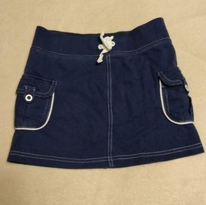 Faded Glory Navy Blue Skirt